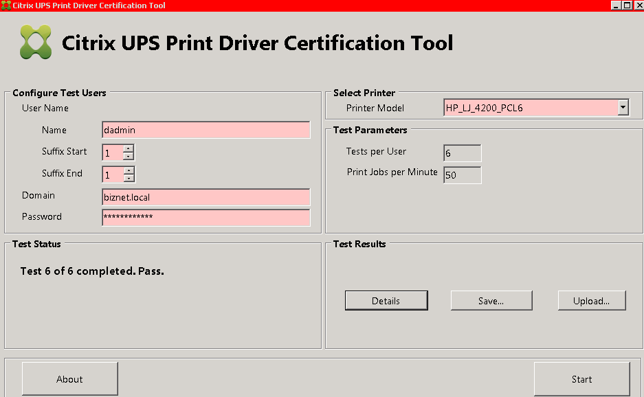 CitrixUPS_PrintDriverCertification