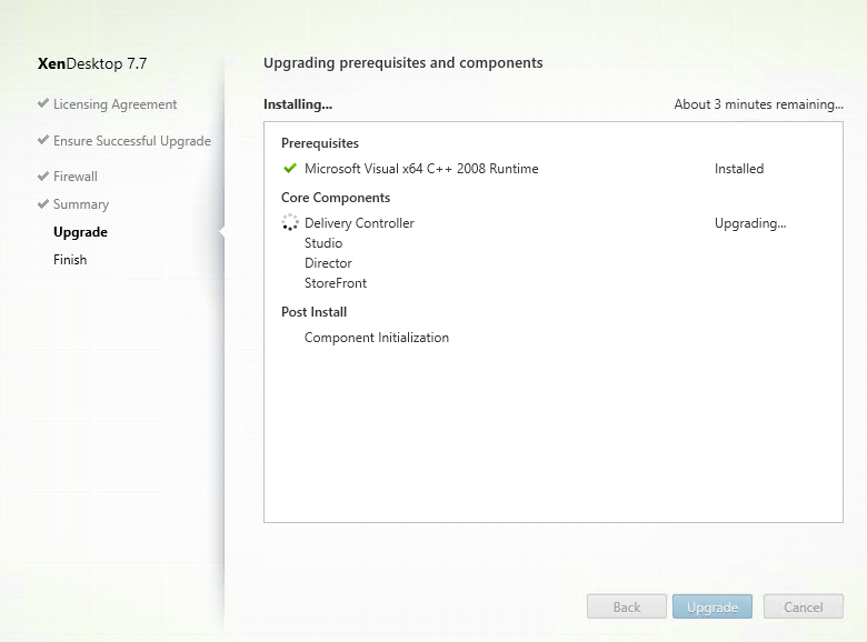 Upgrade-XA77-pending